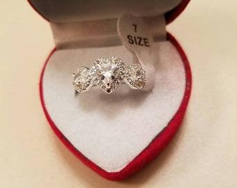 Womens Heart shape Ring