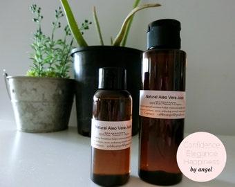 100% nautral organic Aleo Vera Juice DIY skincare body lotion toner hydration
