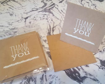 Handmade Cards - Thank You