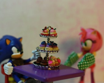 Miniature Cupcakes set 1 (polymer clay)
