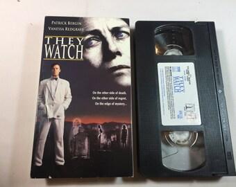 THEY WATCH-Vanessa Redgrave Patrick Bergin VHS 1994 Pg 13 100 mins