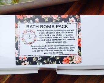 Luxury Bath Bomb Trio Pack