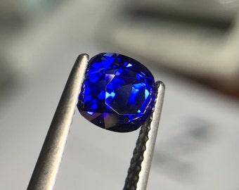 2.21 Ct Ceylon Heated / Untreated Royal Blue Sapphire | GIC Certified