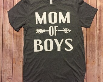 Mom Of Boys shirt, Boy Mom, Mom Life, Mama of Boys