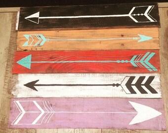 Rustic Pallet Arrows