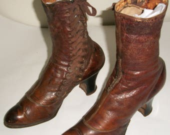 Victorian Side Lace Boots