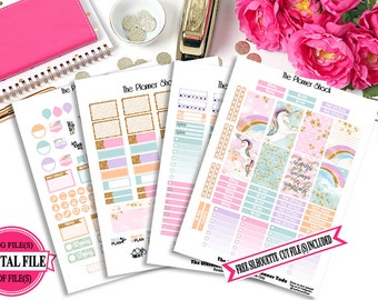 Starlight - Happy Planner - Printable Planner Stickers