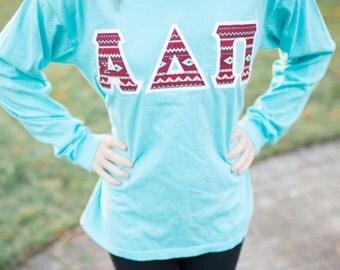comfort colors greek letter sweatshirt adpi letters kappa delta letters delta gamma lettersdelta zeta letters alpha gamma delta