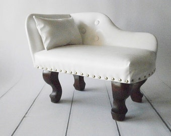 mini chaise lounger, sofa, bed photography prop