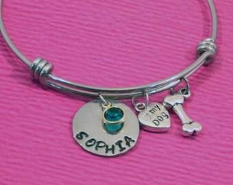 Dog Lover Gift | Dog Lover Bracelet | Dog Owner Gift | Dog Jewelry | Dog Bracelet | Dog lover Jewelry | Pet Lover Gift | Rescue Dog Gift |