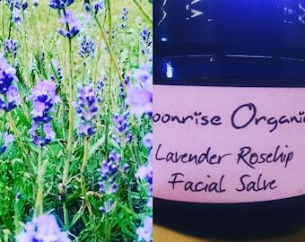 Lavender Rosehip Facial Salve