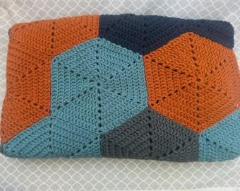 Crib blanket - baby blanket - baby shower gift - stroller blanket