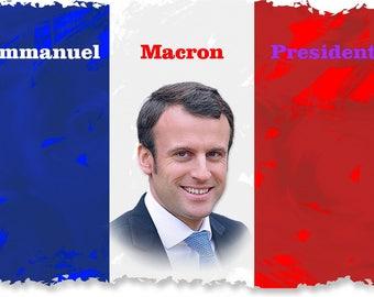 Emmanuel Macron mug French President mug