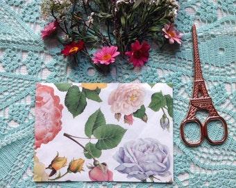 Handmade Flower Envelope #3
