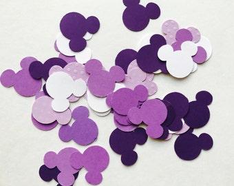 Purple Minnie Mouse Confetti