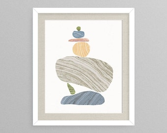 Formation IV - Nature Decor- Nature Gifts- Natural Gifts- Prints for Decor- Nature Art- Rock Art -Rocks -Geode -Boho -Eclectic -Rock -Rocks