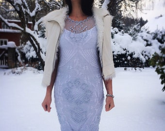 Airy Blue lace dress