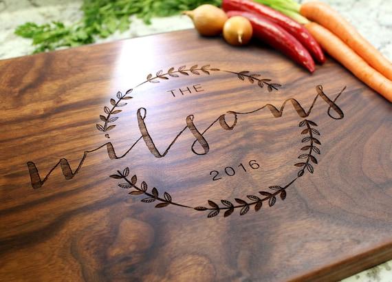 Personalized Cutting Board Engraved Cutting Board Custom