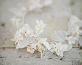Beautiful vintage French flower crown