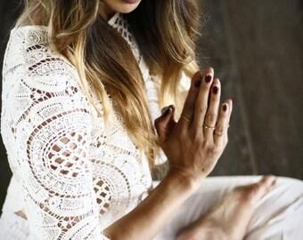 Pi Yoga Pants, Boutique Lounge & Yoga Pants: Kundalini White