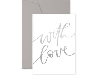 With Love - Card