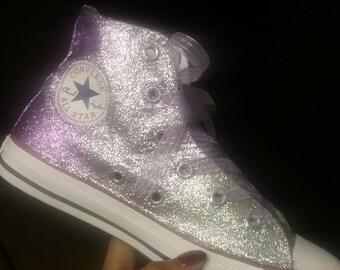 Custom Girls Converse Shimmer Shine