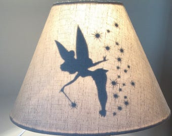 Inspired lamp shade.