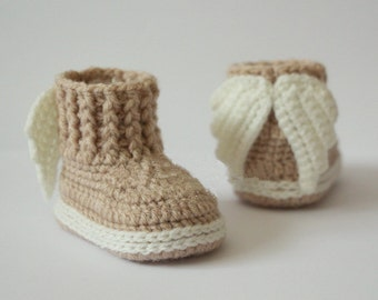 Crochet shoes kids, baby knitted shoes