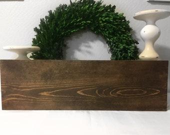 """23.5 """"L x 7.5""""W, Custom Wood Sign, Custom Home Decor, Custom Sign, Rustic wood sign, Custom Rustic Wood Sign, Custom Font, Custom Color"""