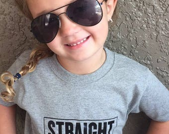 Straight outta pre k tshirt (bow also available)