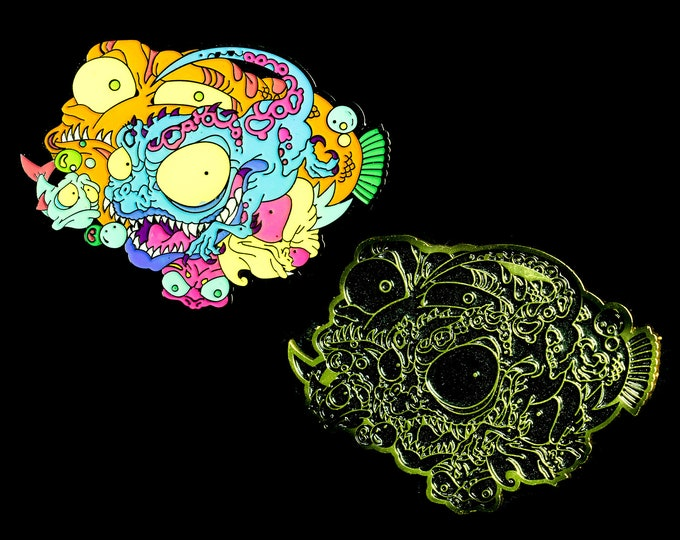 Deep Sea Monsters Lapel Pin (set of two)