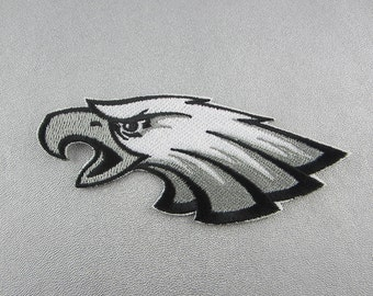 Hawk Iron On Patch, Eagle Patch, Embroidered Bird Patch