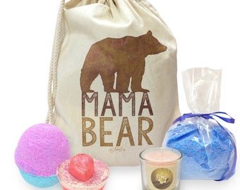 Mama Bear Silhouette Mini Spa In A Bag Collection 3
