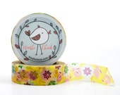 Easter Washi Tape - pink bunnies and flowers
