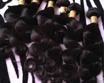 Virgin  Brazilian Body  Wave Hair  Weave