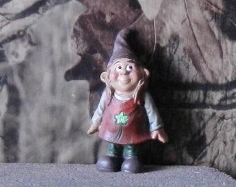 "161511D Minis Gnome Girl Standing - approx. 3 1/4"" tall x 2"" wide x 1 1/2"" deep - 1 pkg"
