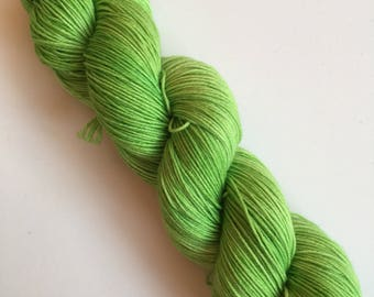 Apple Semi-Solid Hand Dyed Sock Yarn 100g DYED TO ORDER