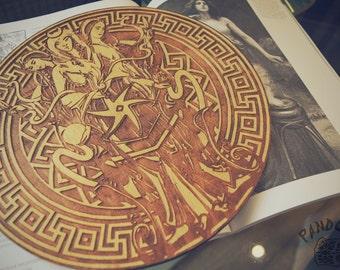 Altar pentacle, Hecate, Hecate symbol