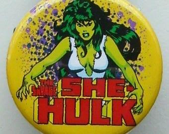 "Classic ""The Savage She Hulk"" badge reel"