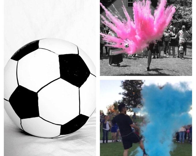 """6"""" Soccer Ball Gender Reveal Soccer Gender Reveal"""