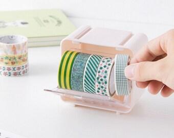 Washi tape organizer, holder, washi tape storage, Washi Tape Dispenser, Masking Tape, Storage Box, Case, collection, Washi Tape Dispenser