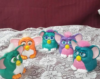 Vintage furies.  Made for McDonald's kid's meals. 5 piece set.