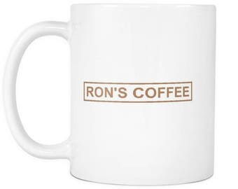 Ron's Coffee Shop Mug from Mr. Robot