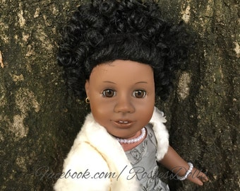 Custom OOAK American Girl Addy doll