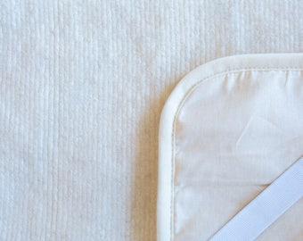 white mattress cover | bed mattress pad |wool mattress cover