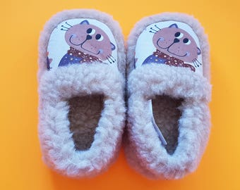 toddler child slippers | home shoes slippers | wool slippers