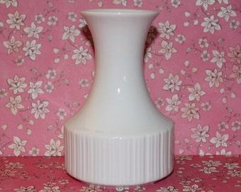 Vintage White Ceramic Bud Vase Rosenthal Made In Germany