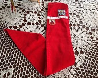 Boy Scouts Red Sash