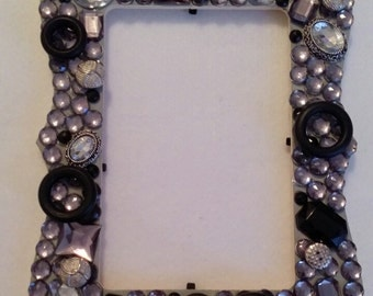 Black and Silver Picture frame