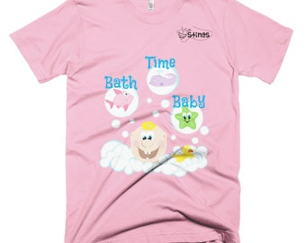 Bath Time Baby T-shirt